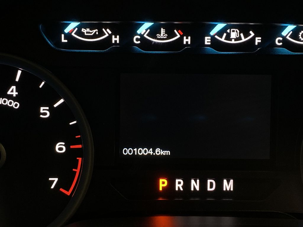Red[Race Red] 2020 Ford F-150 Odometer Photo in Dartmouth NS