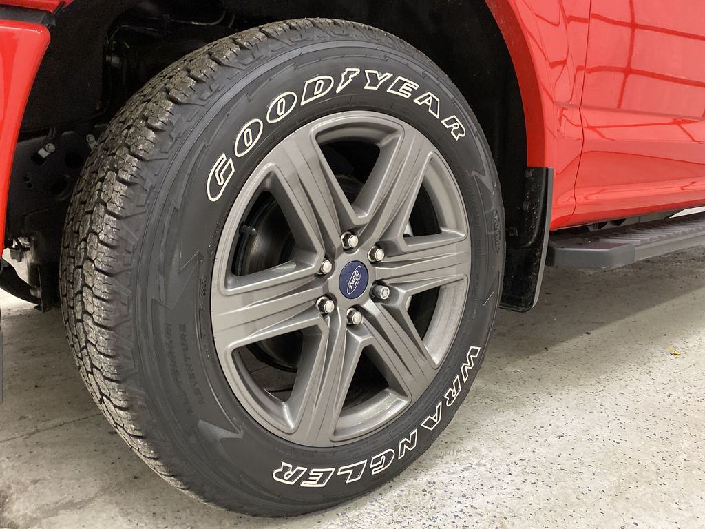 Red[Race Red] 2020 Ford F-150 Left Front Rim and Tire Photo in Dartmouth NS