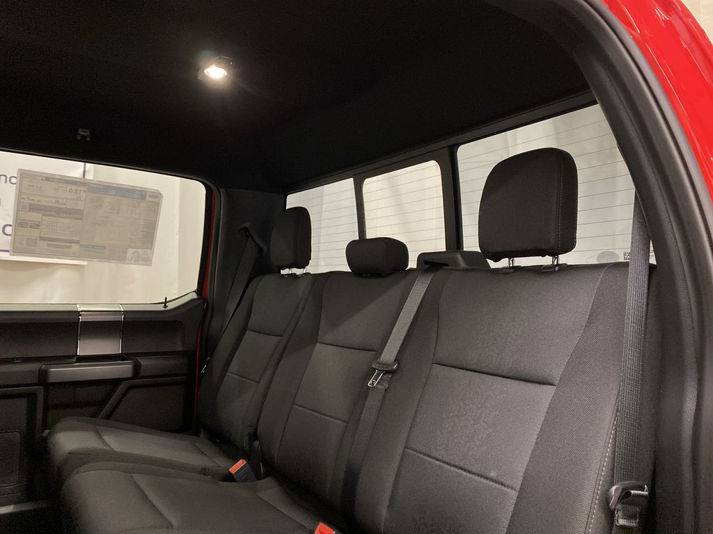 Red[Race Red] 2020 Ford F-150 Left Side Rear Seat  Photo in Dartmouth NS