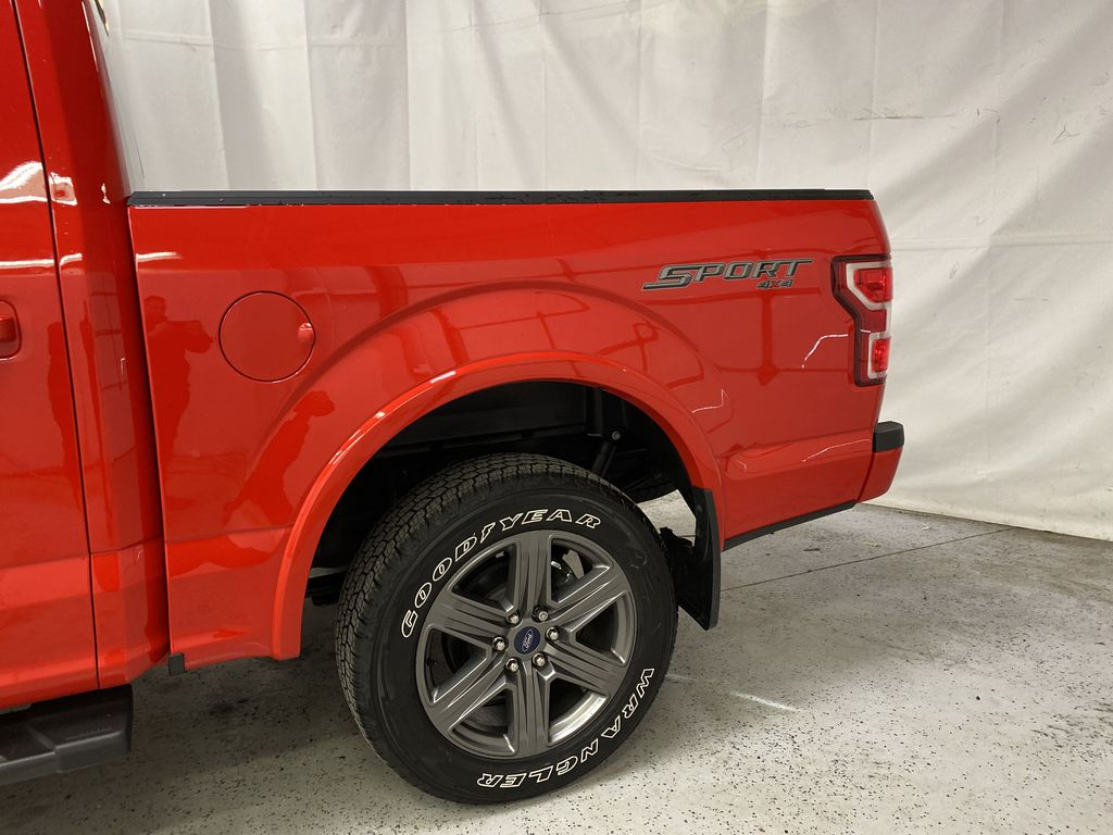 Red[Race Red] 2020 Ford F-150 Left Rear Corner Photo in Dartmouth NS