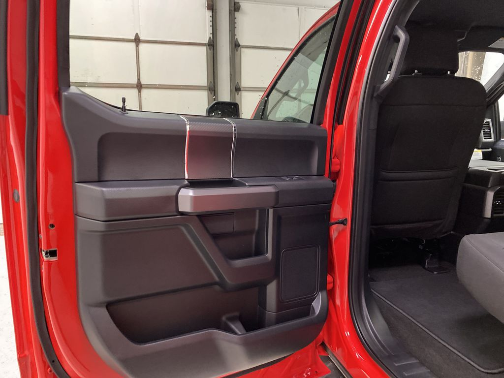 Red[Race Red] 2020 Ford F-150 Left Rear Interior Door Panel Photo in Dartmouth NS