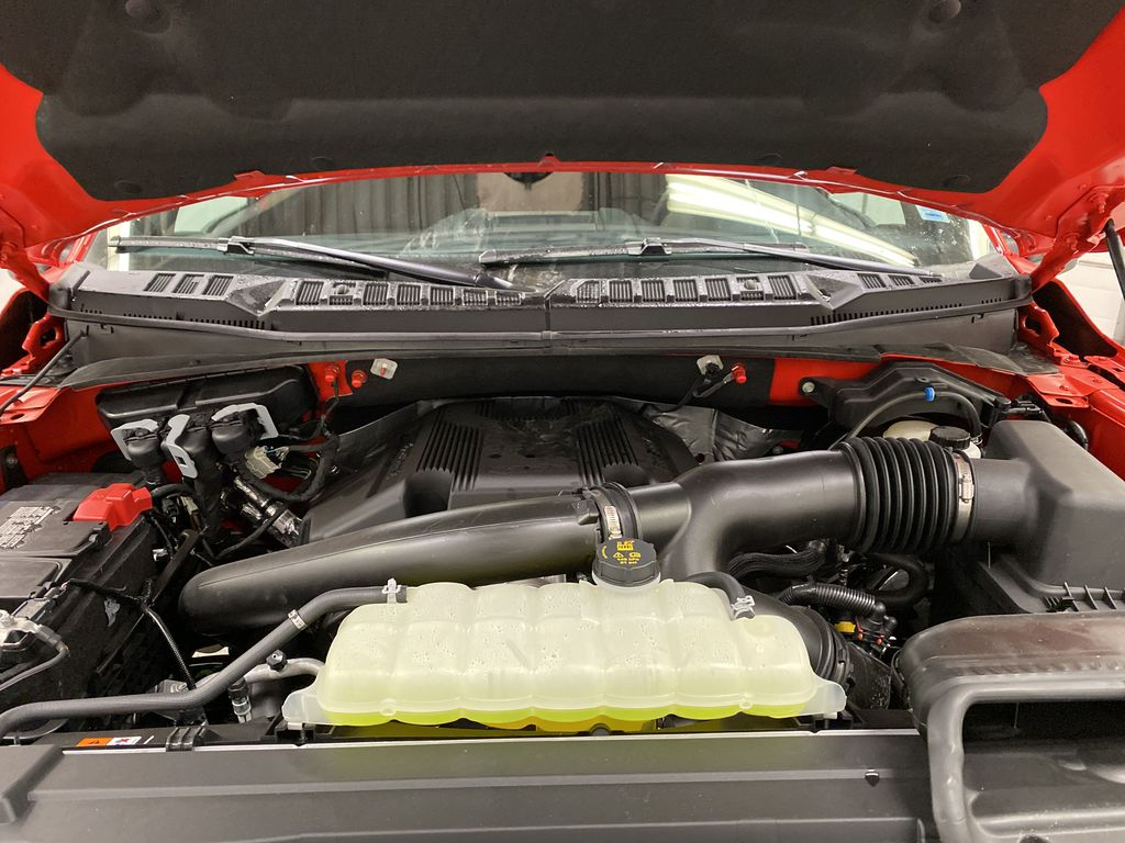 Red[Race Red] 2020 Ford F-150 Engine Compartment Photo in Dartmouth NS