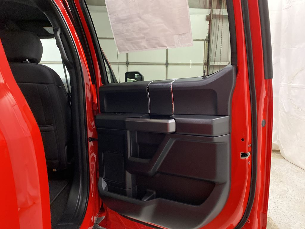 Red[Race Red] 2020 Ford F-150 Right Rear Interior Door Panel Photo in Dartmouth NS