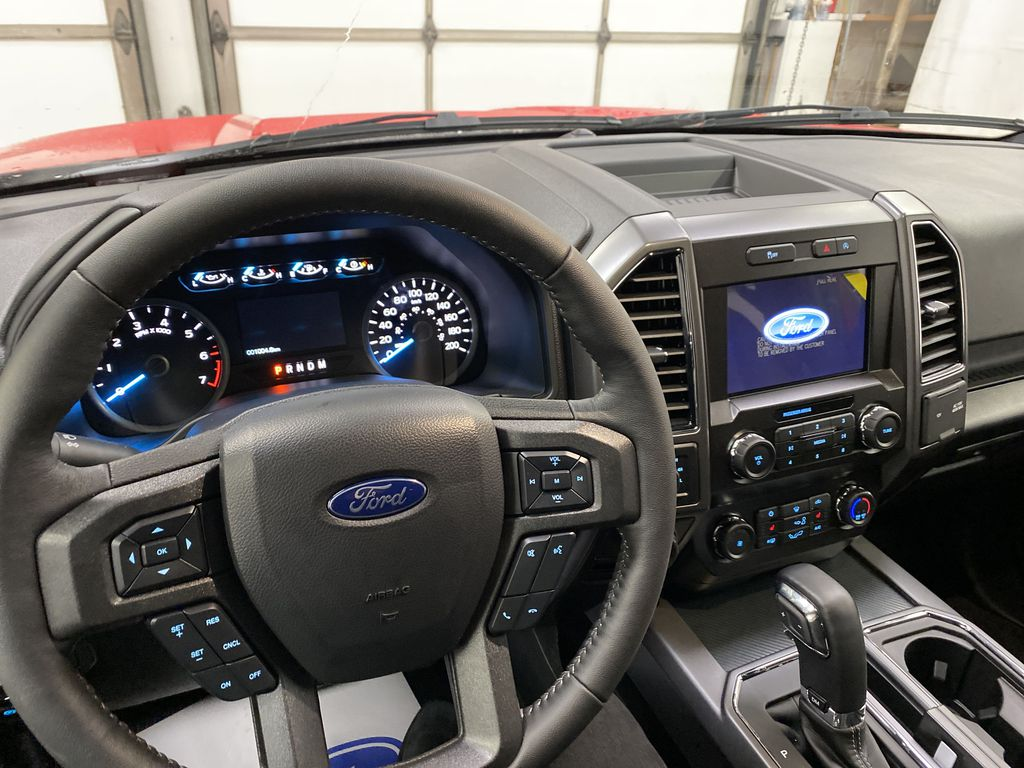 Red[Race Red] 2020 Ford F-150 Steering Wheel and Dash Photo in Dartmouth NS