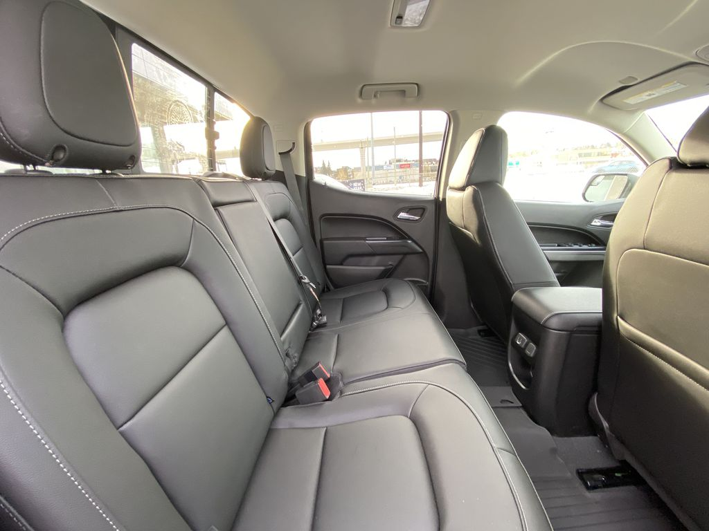 White[Summit White] 2021 Chevrolet Colorado LT Right Side Rear Seat  Photo in Calgary AB