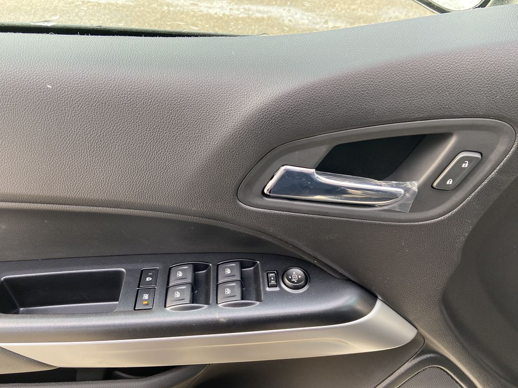 White[Summit White] 2021 Chevrolet Colorado LT  Driver's Side Door Controls Photo in Calgary AB