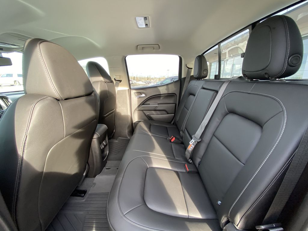White[Summit White] 2021 Chevrolet Colorado LT Left Side Rear Seat  Photo in Calgary AB