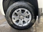 White[Summit White] 2021 Chevrolet Colorado LT Left Front Rim and Tire Photo in Calgary AB