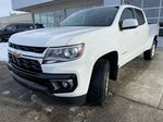 White[Summit White] 2021 Chevrolet Colorado LT Left Front Head Light / Bumper and Grill in Calgary AB