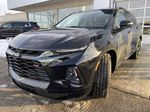 Black[Black] 2021 Chevrolet Blazer RS Left Front Head Light / Bumper and Grill in Calgary AB