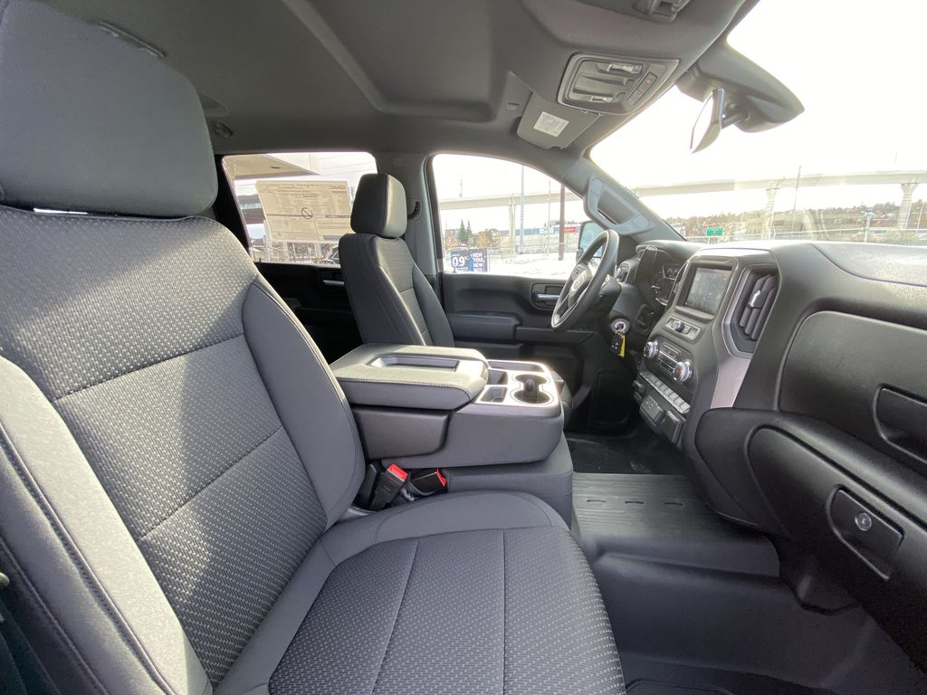 White[Summit White] 2021 GMC Sierra 2500HD SLT Right Side Front Seat  Photo in Calgary AB