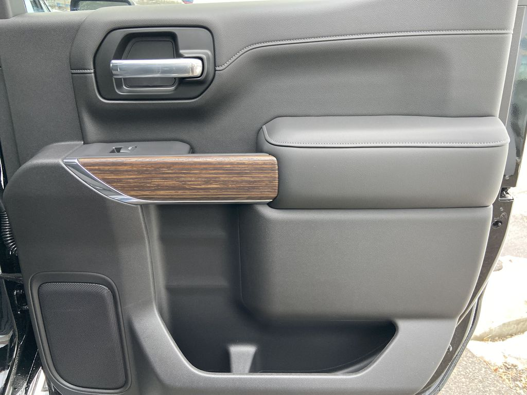 Black[Black] 2021 Chevrolet Silverado 1500 High Country Right Rear Interior Door Panel Photo in Calgary AB
