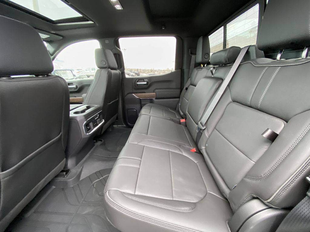 Black[Black] 2021 Chevrolet Silverado 1500 High Country Left Side Rear Seat  Photo in Calgary AB