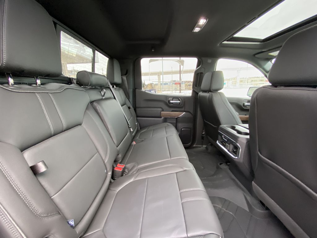 Black[Black] 2021 Chevrolet Silverado 1500 High Country Right Side Rear Seat  Photo in Calgary AB