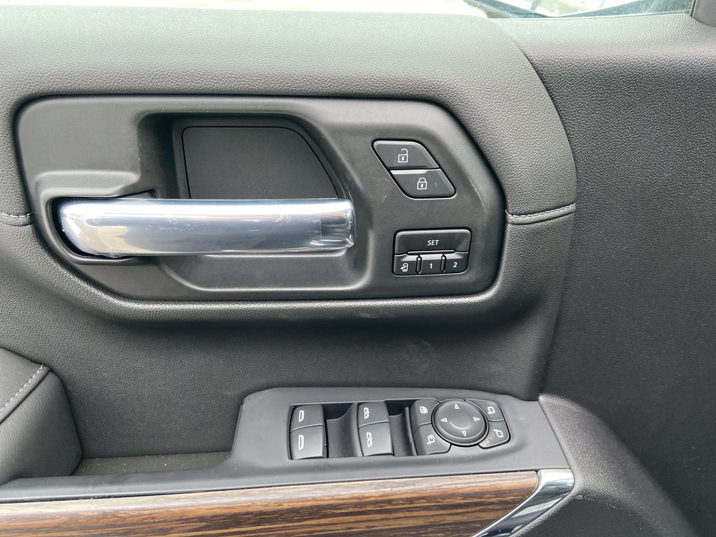 Black[Black] 2021 Chevrolet Silverado 1500 High Country  Driver's Side Door Controls Photo in Calgary AB