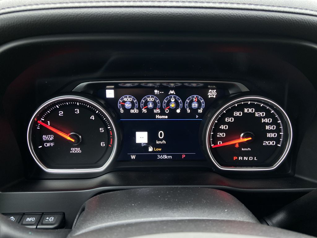 Black[Black] 2021 Chevrolet Silverado 1500 High Country Odometer Photo in Calgary AB