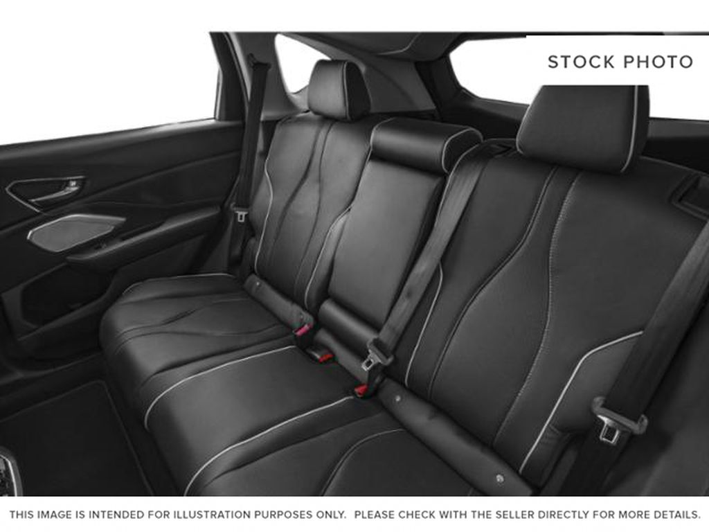 WHITE NH-883PX 2021 Acura RDX Rear Seat Photo in Kelowna BC