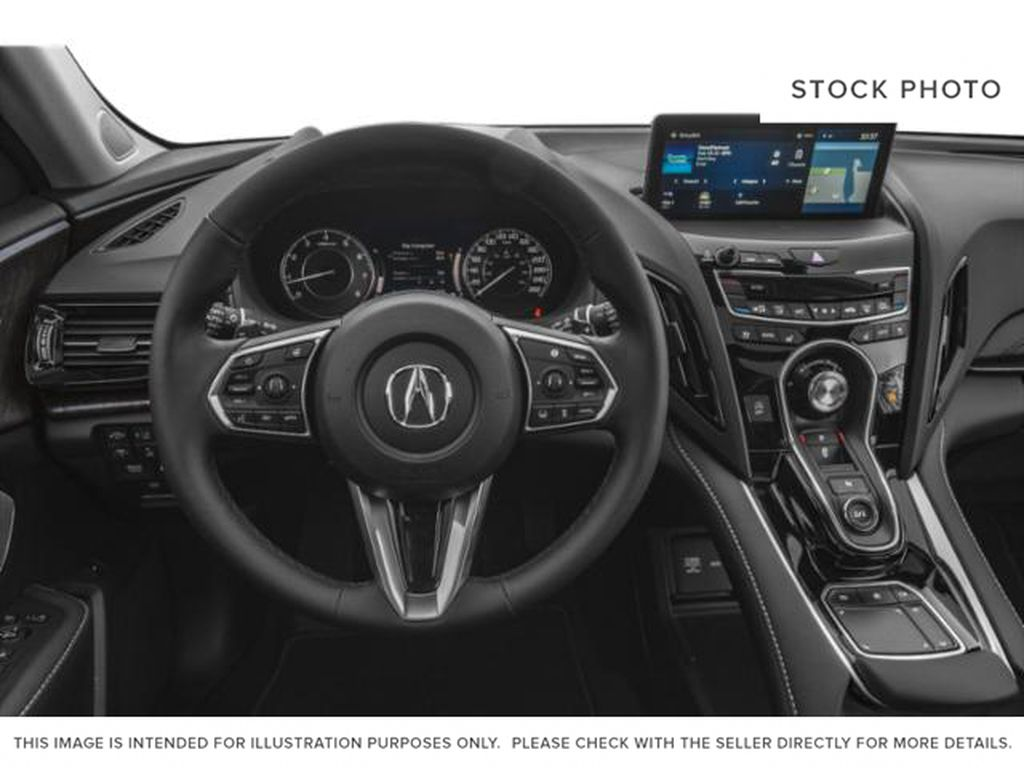 WHITE NH-883PX 2021 Acura RDX Steering Wheel/Instruments Photo in Kelowna BC