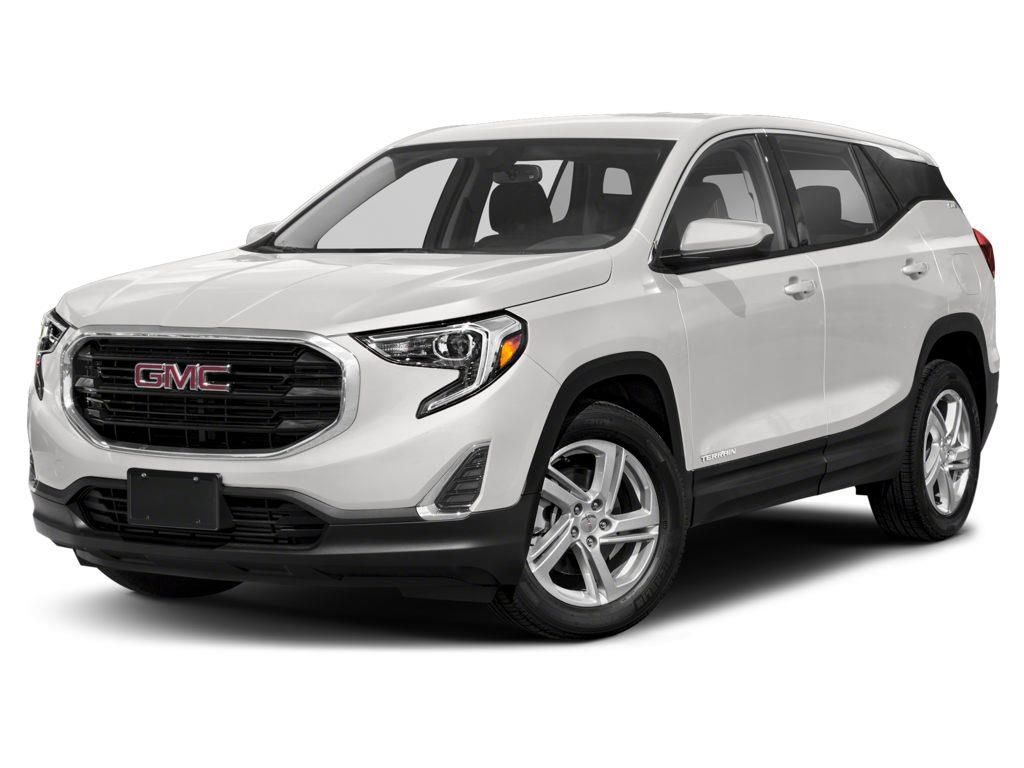 White 2021 GMC Terrain