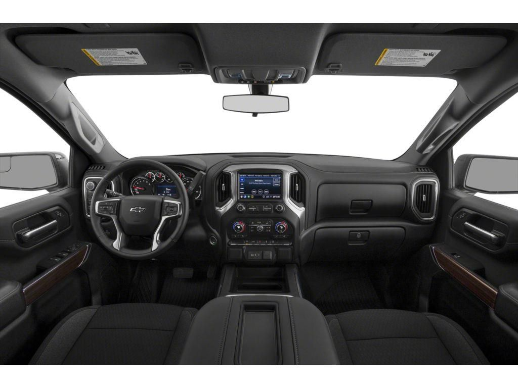 Red 2021 Chevrolet Silverado 1500 Driver's Side Door Controls Photo in Brooks AB