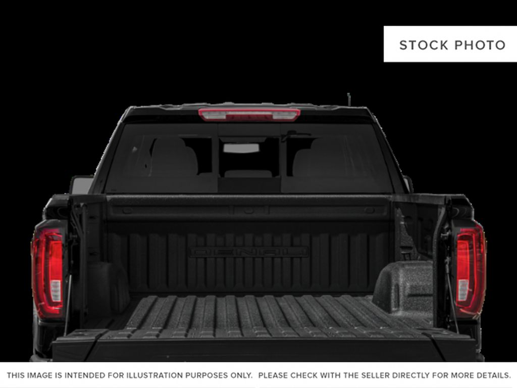 White Frost Tricoat 2021 GMC Sierra 1500 Trunk / Cargo Area Photo in Oshawa ON