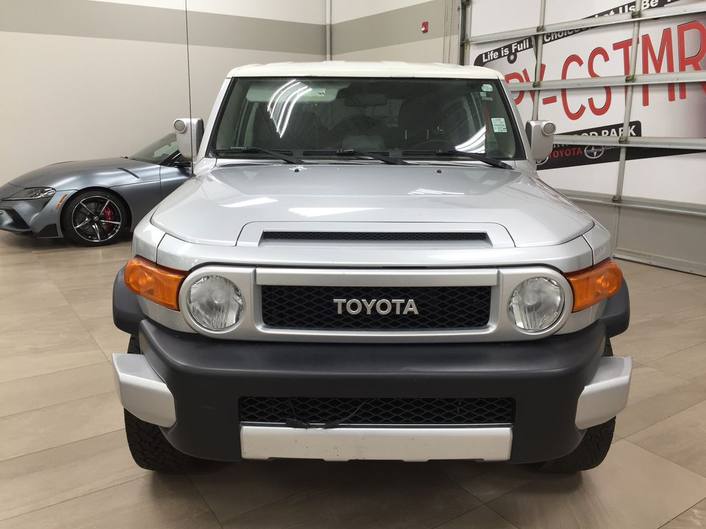 Silver[Titanium Silver] 2007 Toyota FJ Cruiser Manual Trans Left Side Photo in Sherwood Park AB