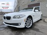 White[Alpine White] 2012 BMW 5 Series Primary Listing Photo in Brampton ON