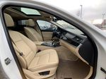 White[Alpine White] 2012 BMW 5 Series Right Side Rear Seat  Photo in Brampton ON