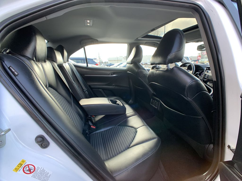 White 2019 Toyota Camry STOCK NOT FOUND Right Side Rear Seat  Photo in Brampton ON