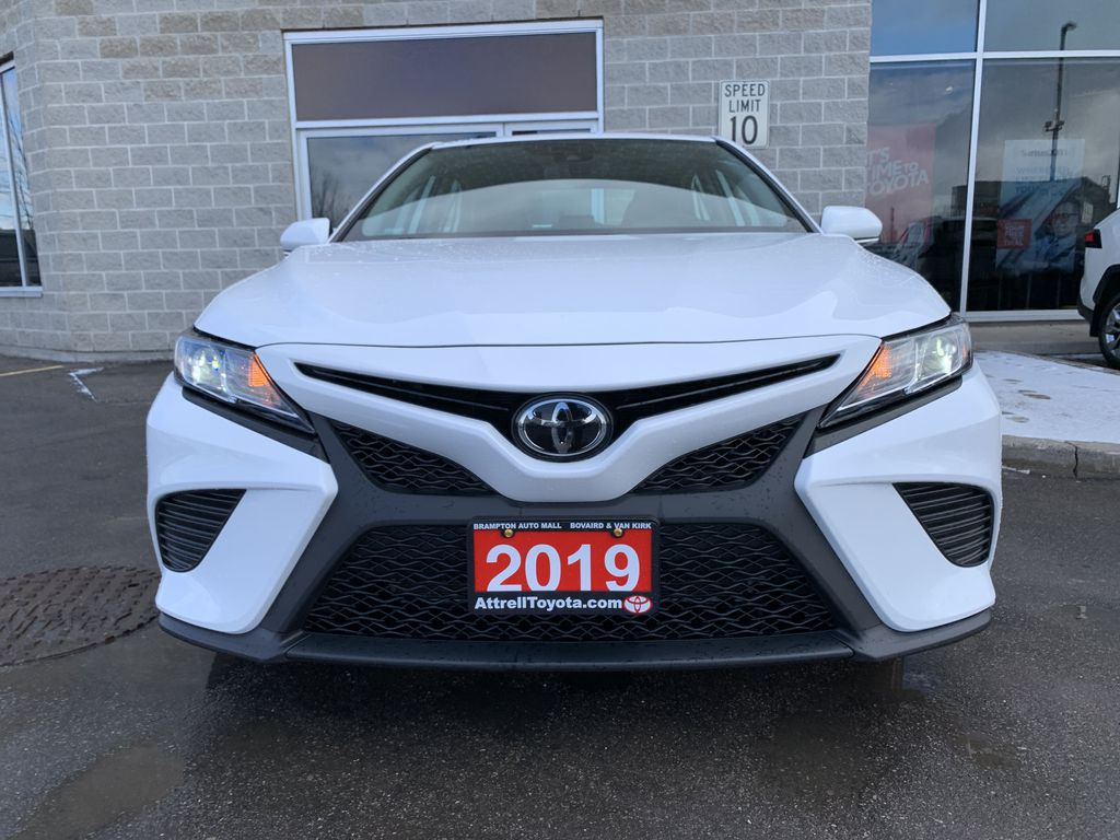 White 2019 Toyota Camry STOCK NOT FOUND Left Side Photo in Brampton ON