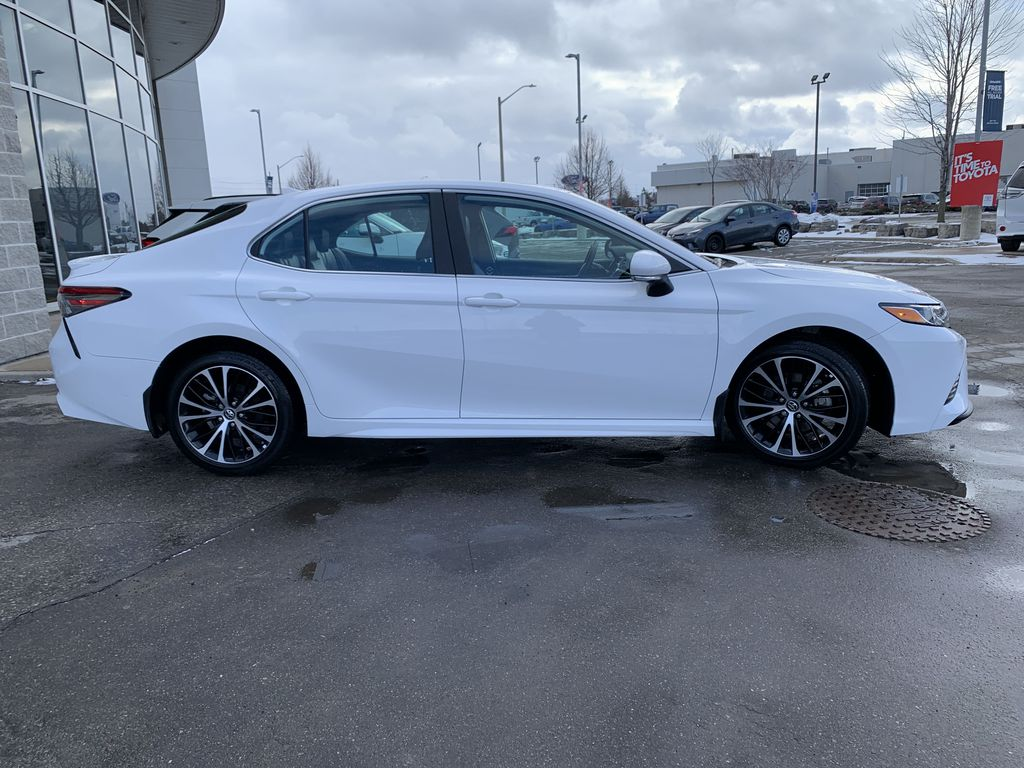 White 2019 Toyota Camry STOCK NOT FOUND Front Vehicle Photo in Brampton ON