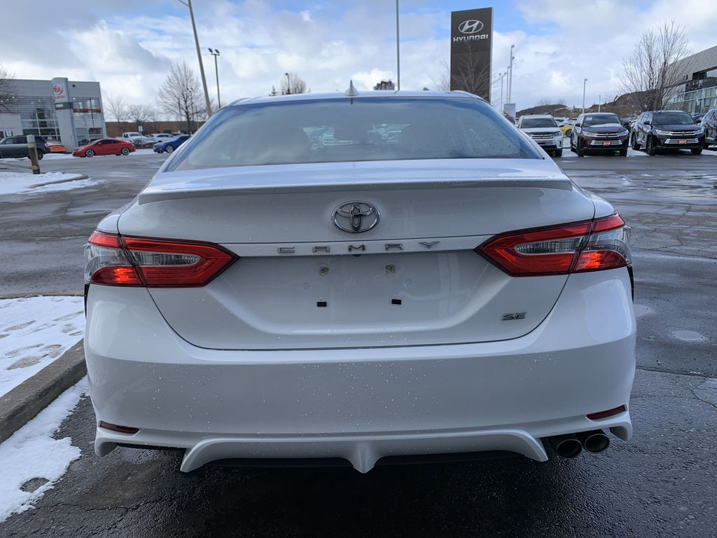 White 2019 Toyota Camry STOCK NOT FOUND Left Front Interior Photo in Brampton ON