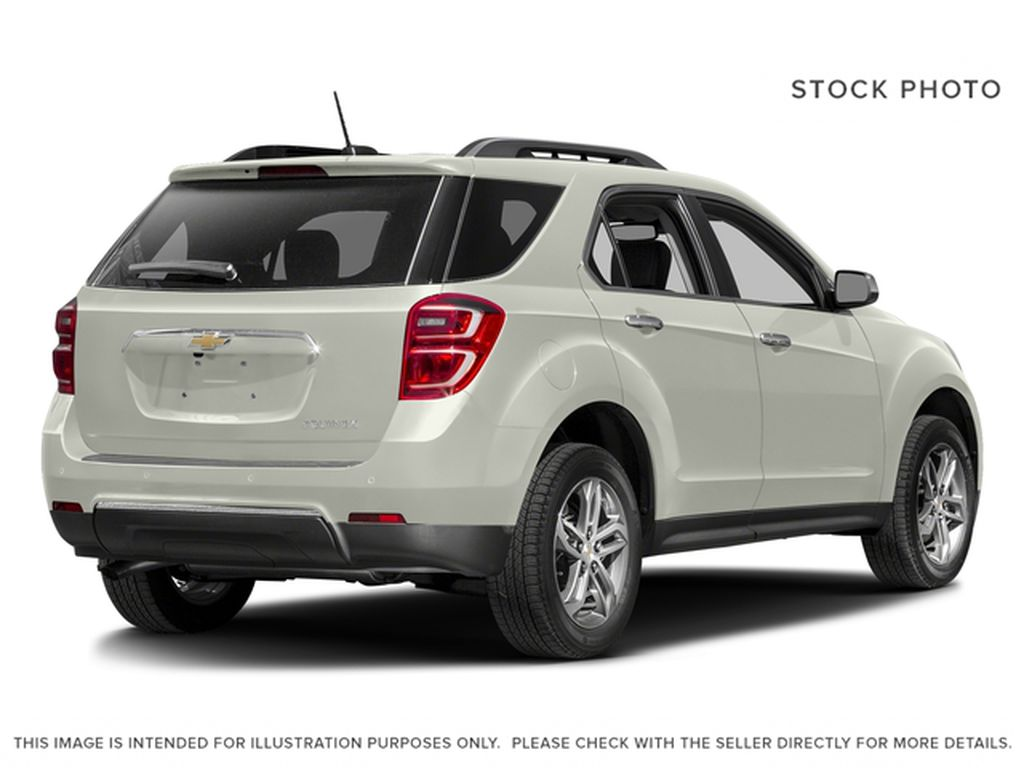 White[Iridescent Pearl Tricoat] 2017 Chevrolet Equinox Right Rear Corner Photo in Fort Macleod AB