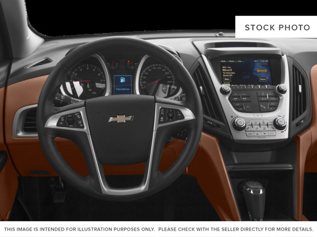 White[Iridescent Pearl Tricoat] 2017 Chevrolet Equinox Steering Wheel and Dash Photo in Fort Macleod AB