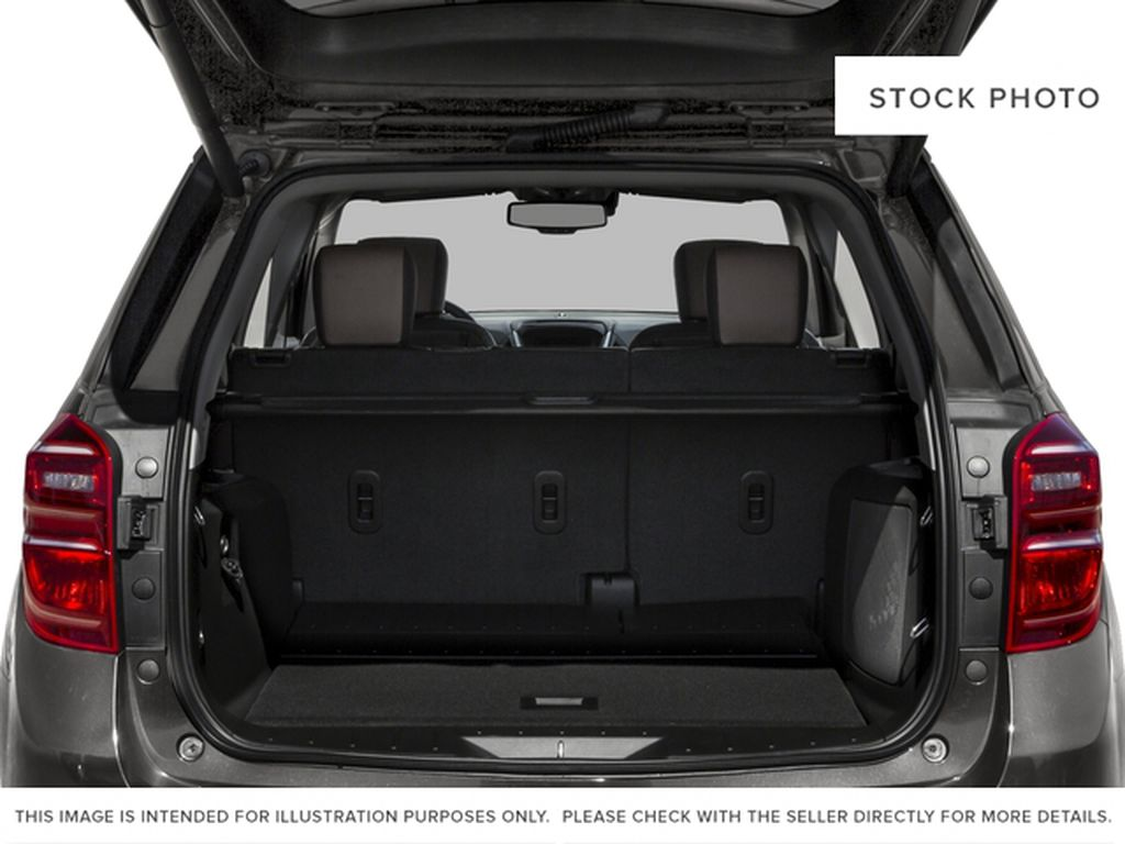 White[Iridescent Pearl Tricoat] 2017 Chevrolet Equinox Trunk / Cargo Area Photo in Fort Macleod AB