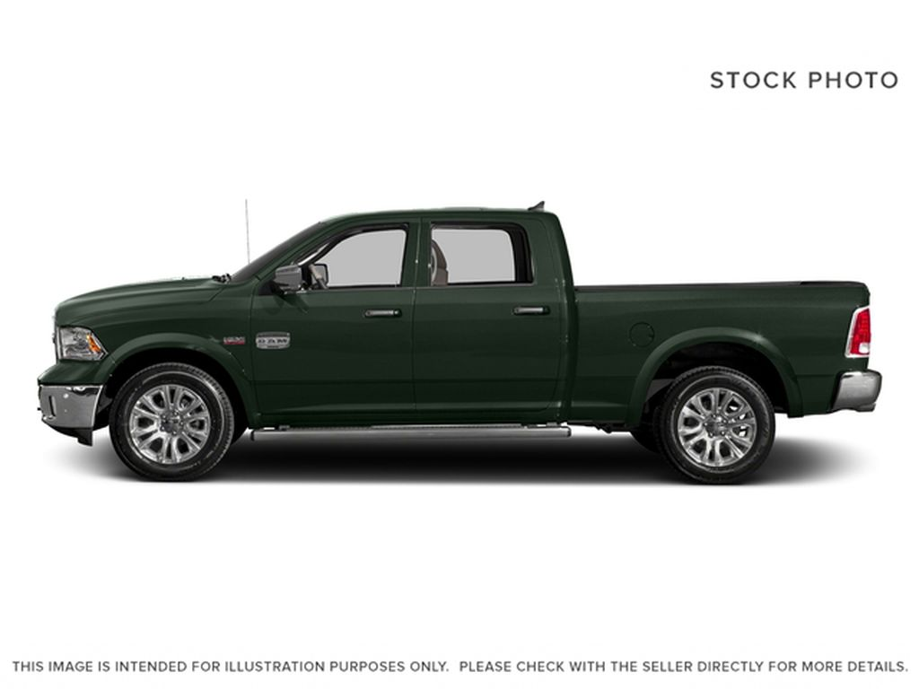 Green[Black Forest Green Pearl] 2016 Ram 1500 Left Side Photo in Fort Macleod AB