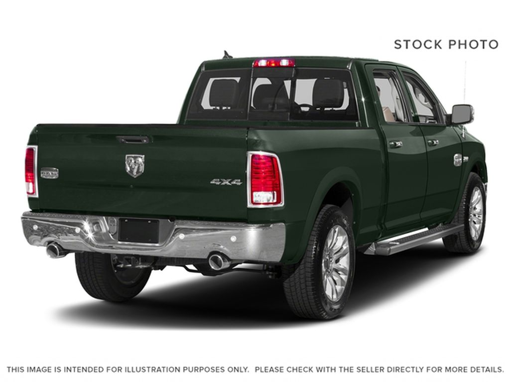 Green[Black Forest Green Pearl] 2016 Ram 1500 Right Rear Corner Photo in Fort Macleod AB