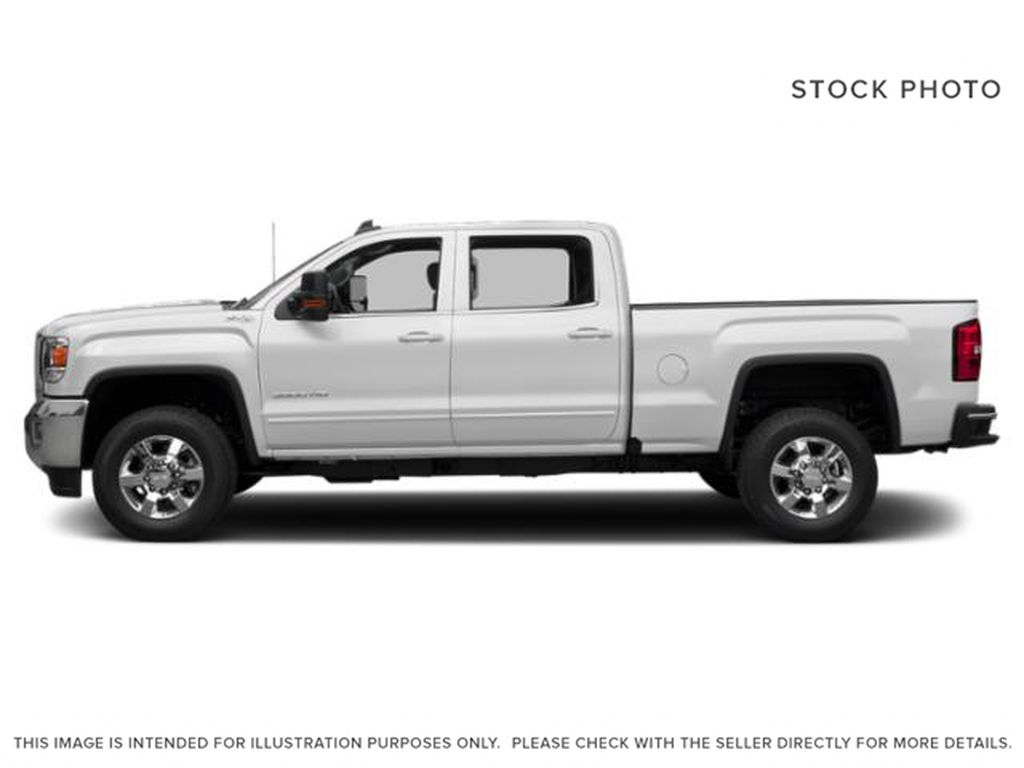 White[Summit White] 2019 GMC Sierra 3500HD Left Side Photo in Fort Macleod AB