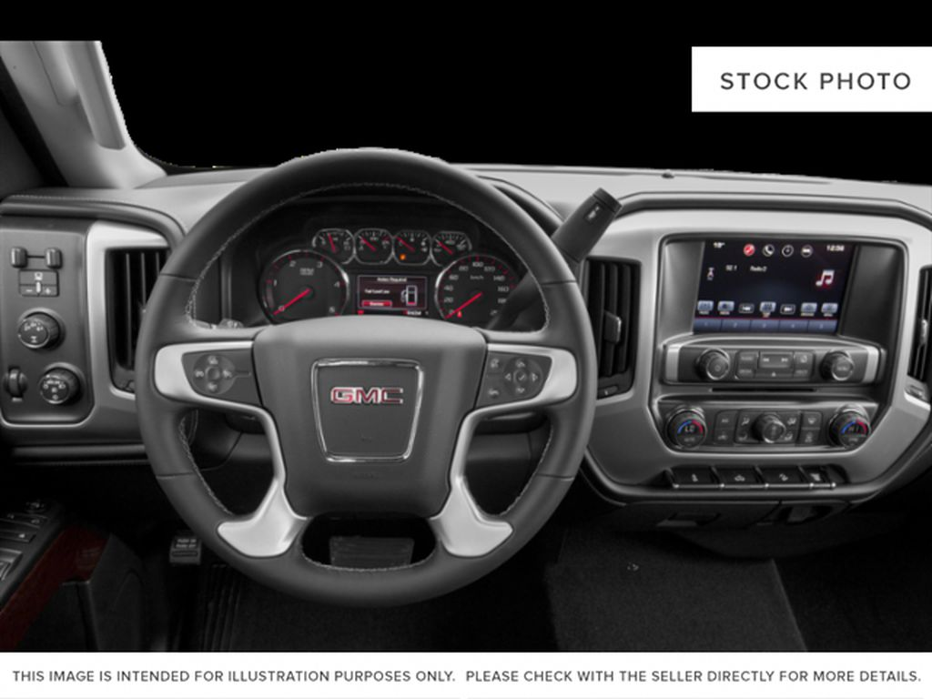 White[Summit White] 2019 GMC Sierra 3500HD Steering Wheel and Dash Photo in Fort Macleod AB