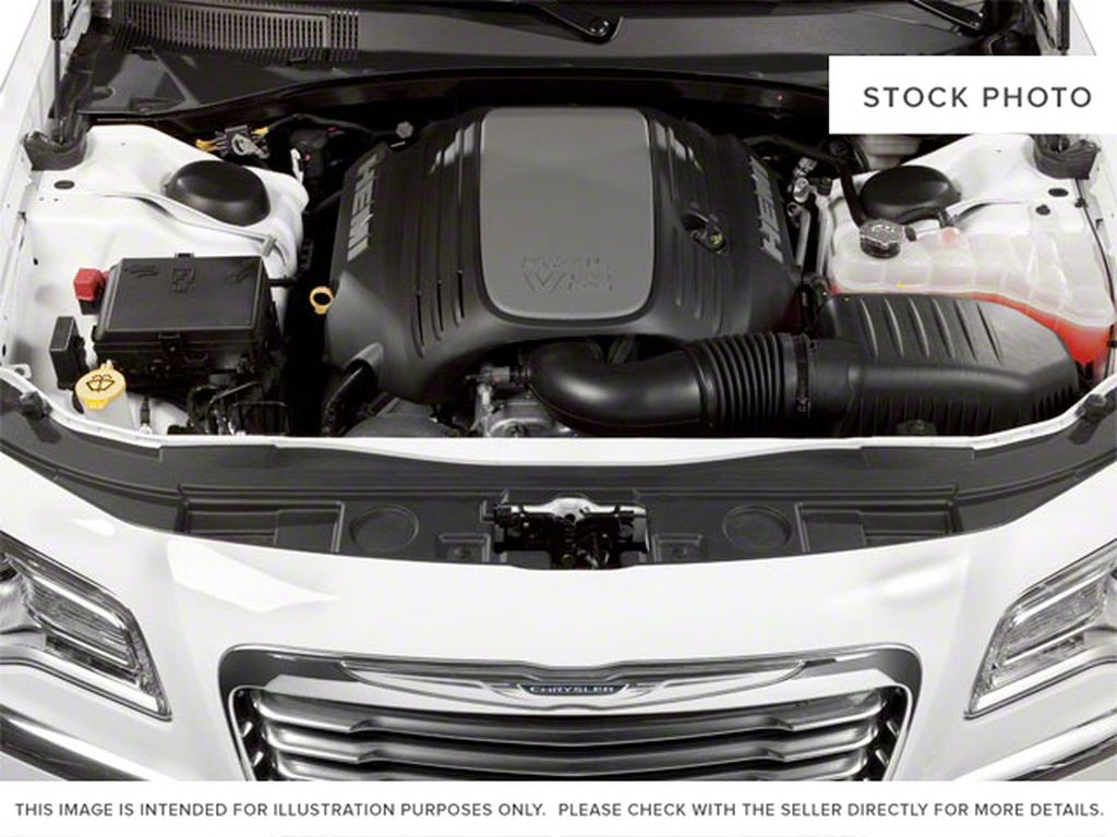Silver[Billet Metallic] 2013 Chrysler 300 Engine Compartment Photo in Fort Macleod AB