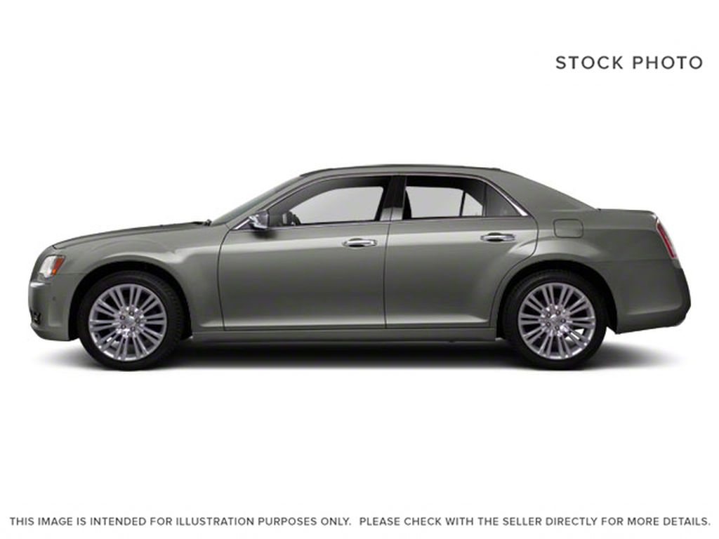 Silver[Billet Metallic] 2013 Chrysler 300 Left Side Photo in Fort Macleod AB