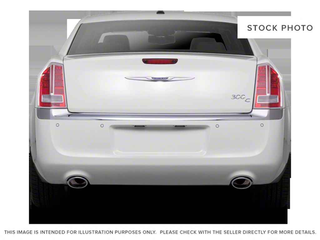 Silver[Billet Metallic] 2013 Chrysler 300 Rear of Vehicle Photo in Fort Macleod AB