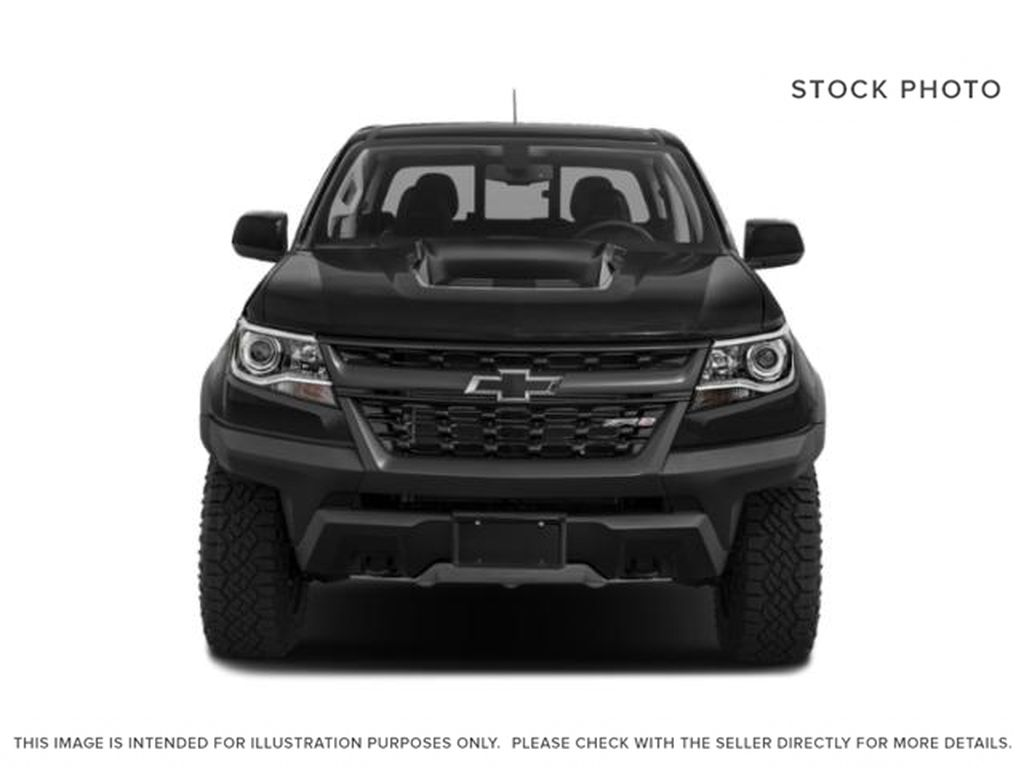 Black[Black] 2019 Chevrolet Colorado Front Vehicle Photo in Fort Macleod AB