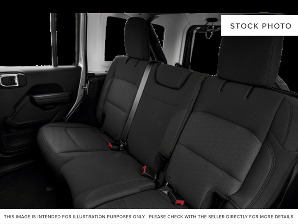 Silver[Billet Silver Metallic] 2020 Jeep Wrangler Unlimited Left Side Rear Seat  Photo in Fort Macleod AB