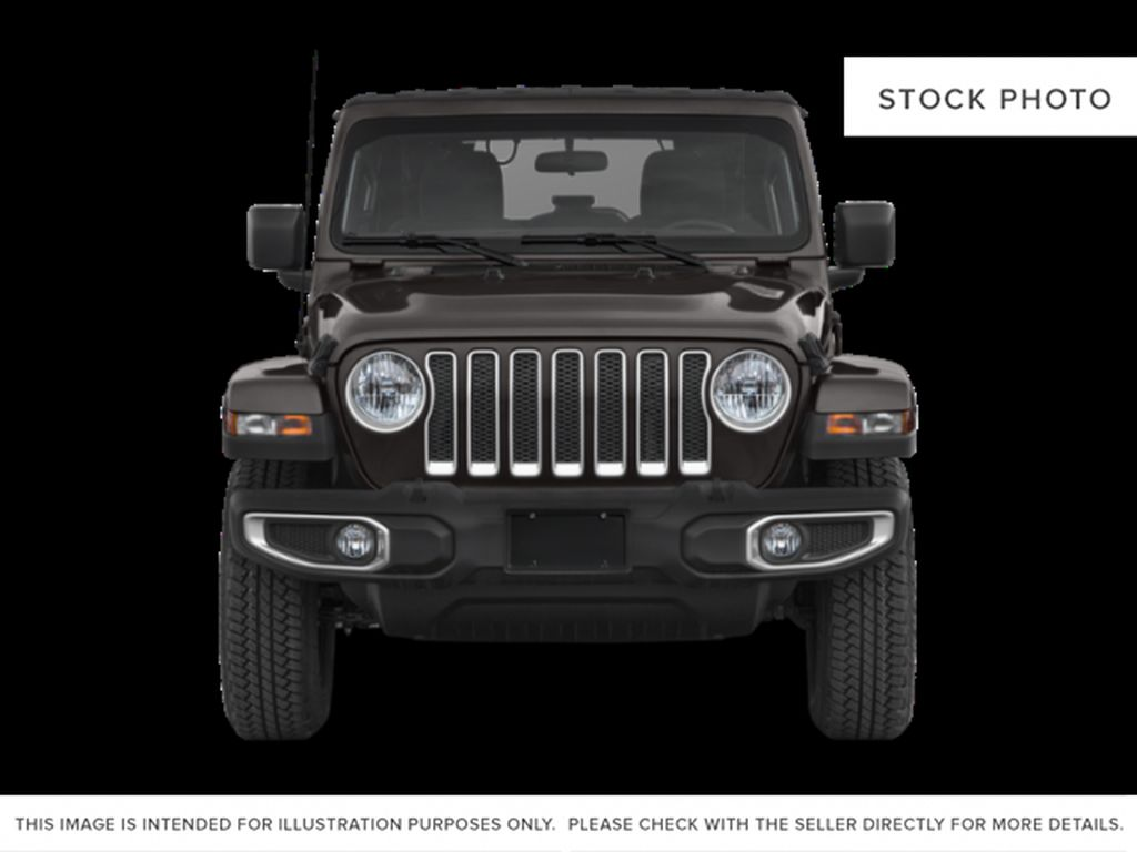 Black[Black] 2020 Jeep Wrangler Unlimited Front Vehicle Photo in Fort Macleod AB