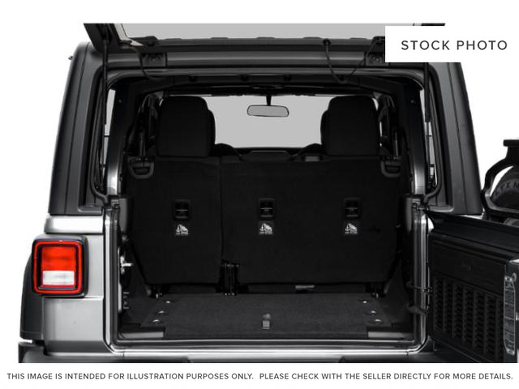 Black[Black] 2020 Jeep Wrangler Unlimited Trunk / Cargo Area Photo in Fort Macleod AB