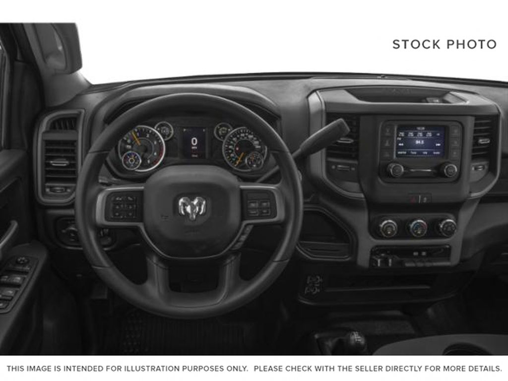 UNKNOWN 2019 Ram 2500 Steering Wheel and Dash Photo in Fort Macleod AB