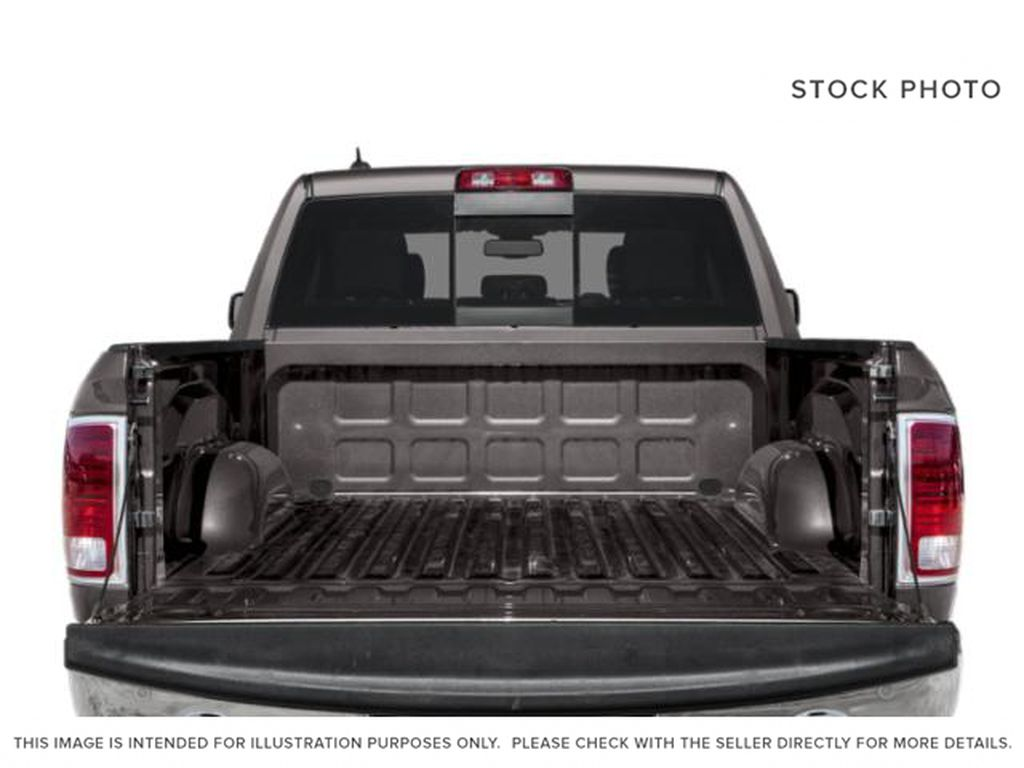 White[Bright White] 2018 Ram 1500 Trunk / Cargo Area Photo in Fort Macleod AB