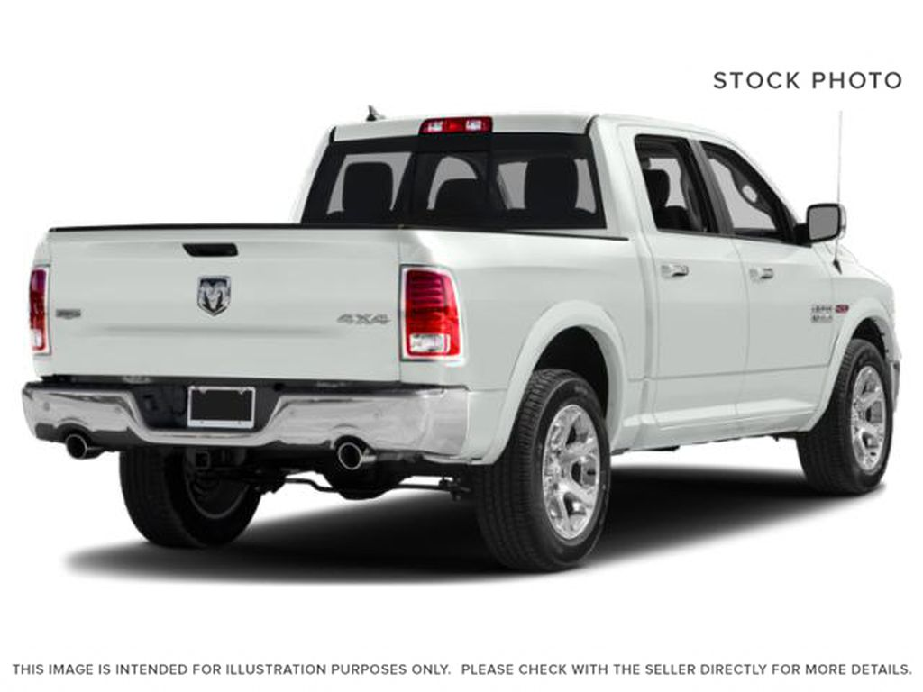 White[Bright White] 2018 Ram 1500 Right Rear Corner Photo in Fort Macleod AB