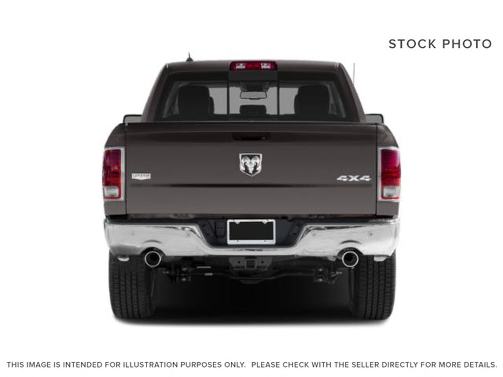 White[Bright White] 2018 Ram 1500 Rear of Vehicle Photo in Fort Macleod AB